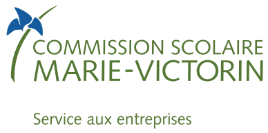 Logo Commission scolaire Marie-Victorin